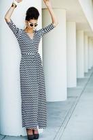Shabby Apple Zig Zag Stardust Dress PP