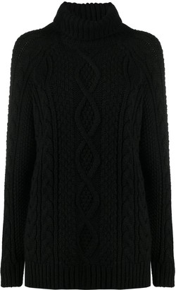 P.A.R.O.S.H. Oversized High Neck Jumper
