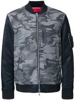 GUILD PRIME camouflage bomber jacket