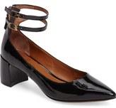 Linea Paolo 'Noel' Pointy Toe Ankle Strap Pump (Women)
