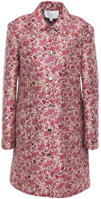 Giambattista Valli Floral-jacquard Coat