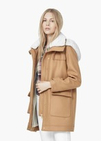 Mango Outlet Faux Shearling Coat