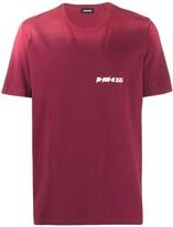 Diesel sun-bleached effect T-shirt