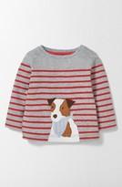 Toddler Boy's Mini Boden Fun Animal Applique Shirt