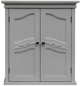 """Elegant Home Fashions Versailles 22"""" W x 24"""" H Wall Mounted Cabinet"""