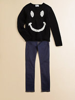 Wildfox Couture Kids Girl's 90's Smile Sweater