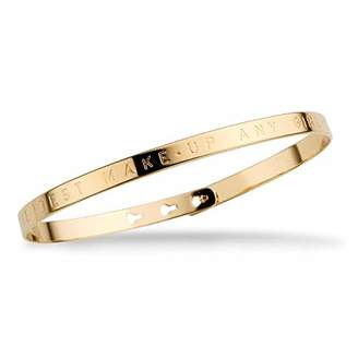 Mya Bay Women Gold Bangle Size L 1/2 JC-12.G