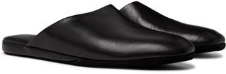 Santoni Leather Slippers