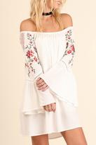 Umgee USA Roses And Lace Dress