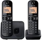 Panasonic TGC-212EB Cordless Telephone With Nuisance Call Block - Twin