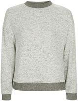 Topshop TALL Two Tone Pyjama Sweatshirt