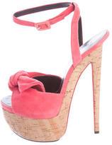 Giuseppe Zanotti Bow-Accented Platform Sandals