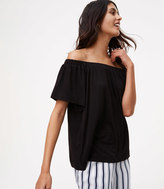 LOFT Tie Back Off The Shoulder Top