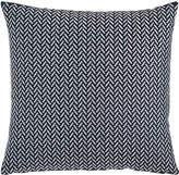 Sferra Herringbone Decorative Pillow, Blue/White