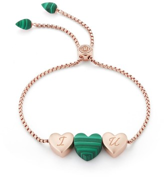 Lmj Luv Me Malachite Bracelet