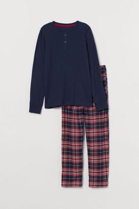 H&M Checked pyjamas