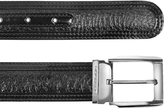Moreschi Chiasso - Black Peccary and Calf Leather Belt