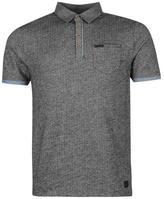 Firetrap Blackseal Jacquard Polo Shirt