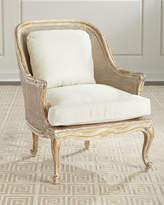 John-Richard Collection Cane-Back Bergere Armchair
