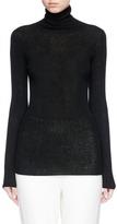 Vince Turtleneck cashmere rib knit sweater