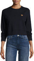 Mother Open Your Heart Sweatshirt, Navy