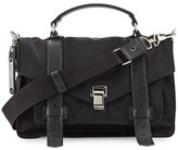 Proenza Schouler PS1 Medium Nylon Crossbody Bag, Black