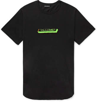 Nonnative Factory Oversized Logo-Print Cotton-Jersey T-Shirt