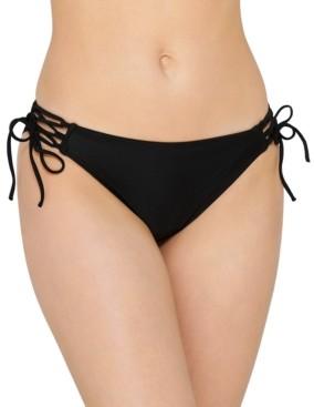Hula Honey Juniors' Adjustable Bikini Bottoms, Created for Macy's Women's Swimsuit