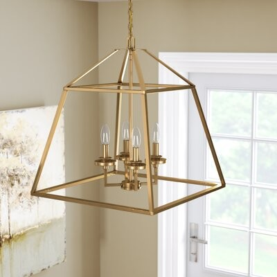 Laurel Foundry Modern Farmhouse Kierra 6 Light Unique Globe Chandelier With Crystal Accents Finish Russet Shopstyle