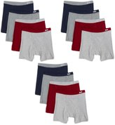 Fruit of the Loom Men's 12Pack Assorted ComfortSoft Boxer Briefs Underwear XL