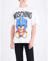 Moschino Transformer Teddy cotton-jersey T-shirt