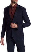 Antony Morato Pattern Lapel Two Button Notch Lapel Super Slim Fit Suit Separates Jacket