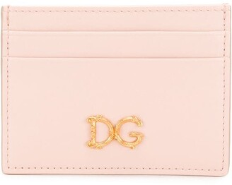 Dolce & Gabbana baroque logo card holder