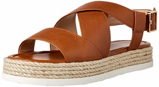 Via Spiga Womens Grayce Toffee Espadrille 6.5 M