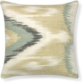 Williams-Sonoma Williams Sonoma Printed Tonal Ikat Pillow Cover, Neutral