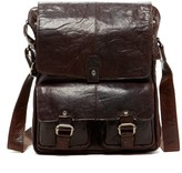 Jack Georges Spikes & Sparrow North-South Genuine Buffalo Leather Messenger Bag