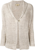 Fay ribbed-knit cardigan - women - Linen/Flax/Cotton - M