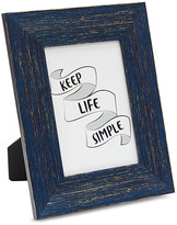 5x7 Navy/Gold Textured Picture Frame