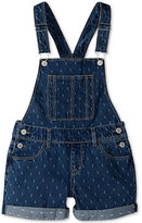 Levi's Cotton Overall Shorts, Little Girls (2-6X)