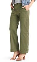 Gap Wide-leg utility pants