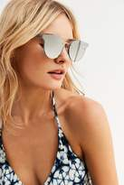 Urban Outfitters Rimless Brow Bar Sunglasses