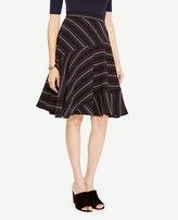 Ann Taylor Striped Full Skirt