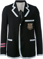 Gucci marine striped blazer - men - Cotton/Cupro/Wool - 48