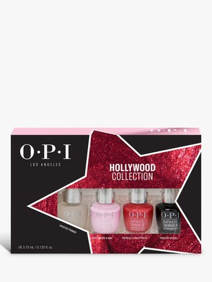 OPI Hollywood Collection Infinite Shine Nail Polish Mini Set, 4 x 3.75ml