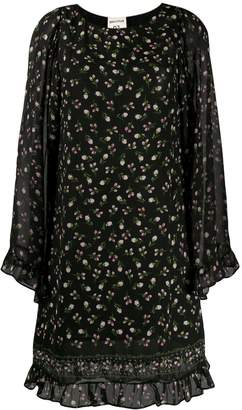 Semi-Couture Semicouture Camp floral frill dress