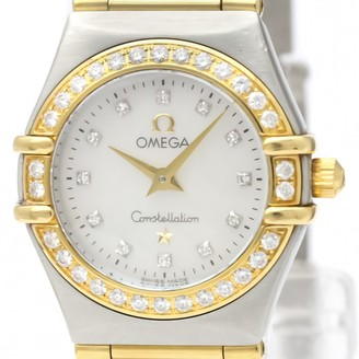 Omega Constellation Gold gold and steel Watches