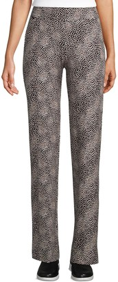 Lands' End Women's Starfish Straight-Leg Pull-On Pants