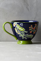 Anthropologie Bellina Blooms Mug