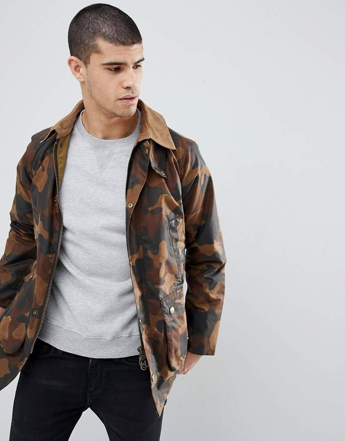 Barbour Slim Fit Bedale in All Over Camo