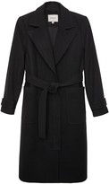 Matt & Nat Evie Vegan Wool Coat Black - Black / L